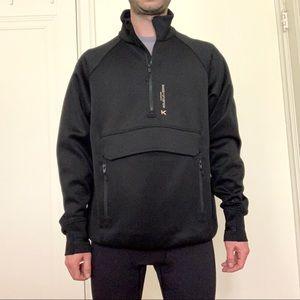 Koral 1/2 Zip Scuba Pullover Jacket Black